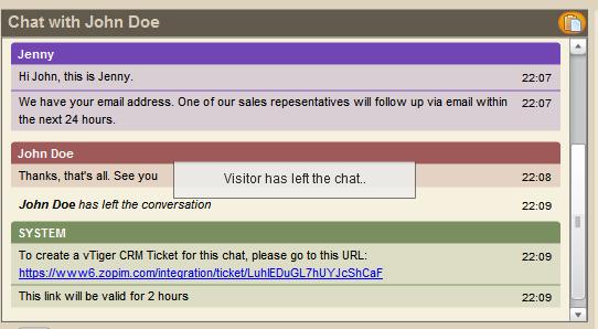 Zopim Chat Extension For Vtiger Crm The Vtiger Blog