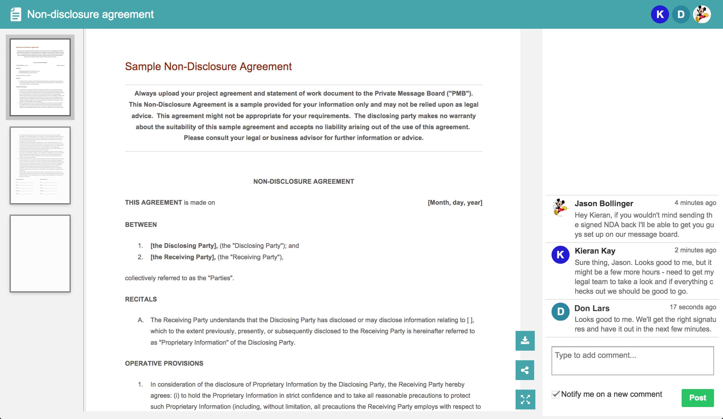 crm document management