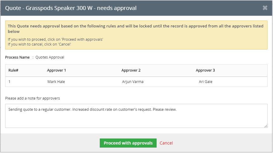 Vtiger_approvals