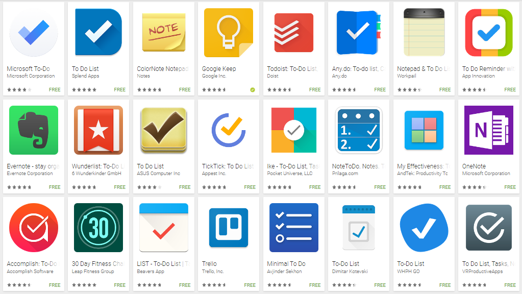 To-do apps