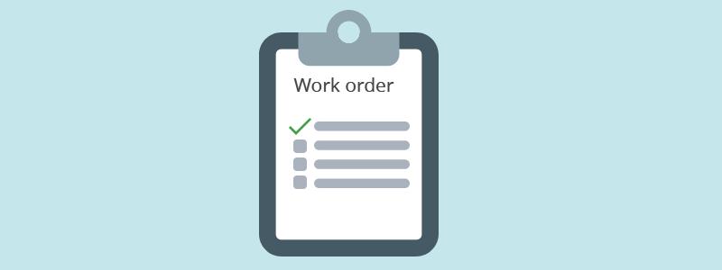 Vtiger_work_order