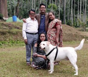 Shilpa's family