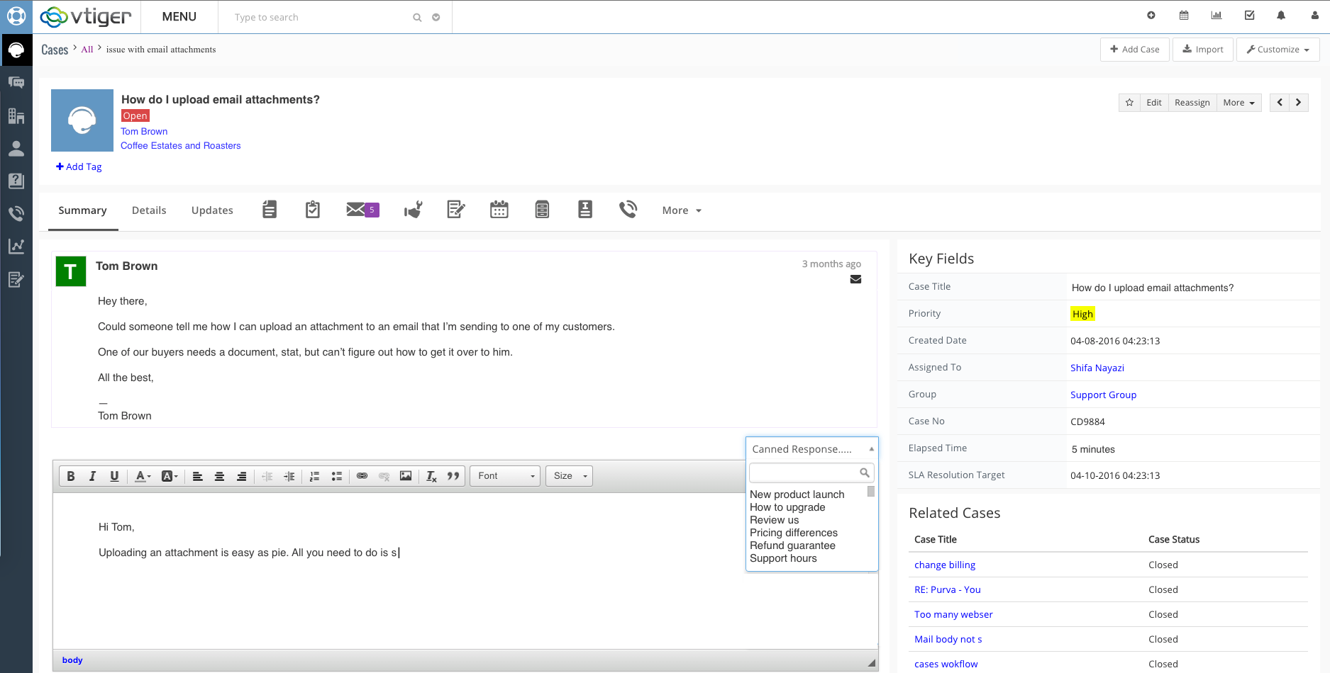 helpdesk customer relationship management